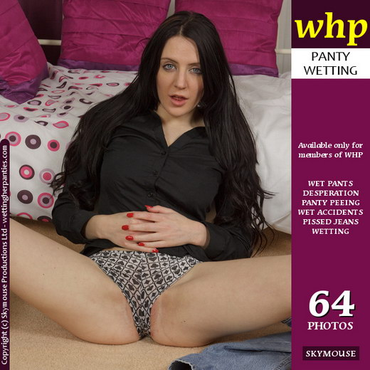 Samantha Bentley - `Samantha Soaks Her Jeans And Panties` - by Skymouse for WETTINGHERPANTIES