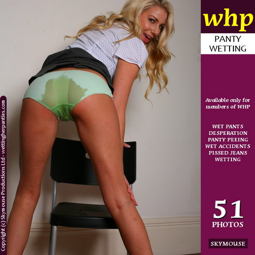 Danielle Maye - `Danielle Maye Gets A Wet Seat!` - by Skymouse for WETTINGHERPANTIES