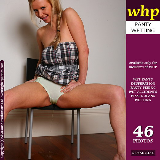 Lucy Alexandra - `Lucy A Brazenly Pees Her Panties` - by Skymouse for WETTINGHERPANTIES