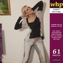 Faye Wets Her Tight Grey Jeans And Dark Grey Panties