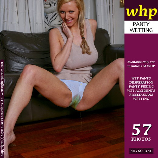 Lucy Alexandra - `Lucy's deliberate panty wetting` - by Skymouse for WETTINGHERPANTIES