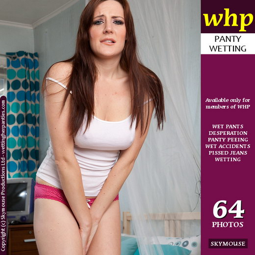 Samantha Bentley - `Desperate To Go` - by Skymouse for WETTINGHERPANTIES