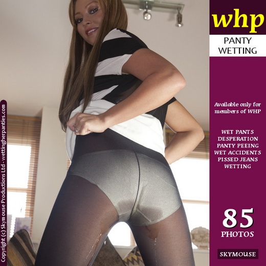 Natalia - `Tight pissed pantyhose` - by Skymouse for WETTINGHERPANTIES