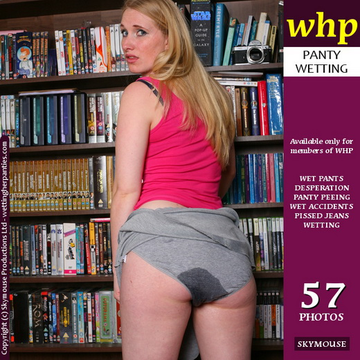 Petula - `Panties End Up Darker Grey` - by Skymouse for WETTINGHERPANTIES