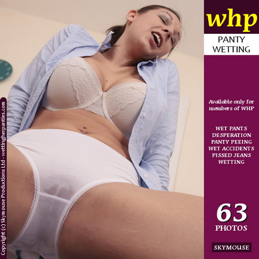 Sophie Parker - `White panty wetting` - by Skymouse for WETTINGHERPANTIES