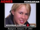 Agnes casting video from WOODMANCASTINGX by Pierre Woodman