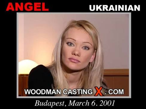 Angel - `Angel casting` - by Pierre Woodman for WOODMANCASTINGX