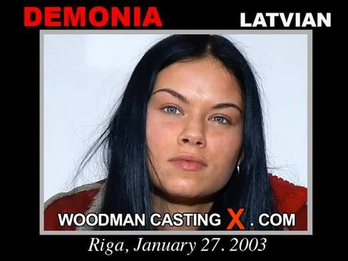 Demonia - `Demonia casting` - by Pierre Woodman for WOODMANCASTINGX