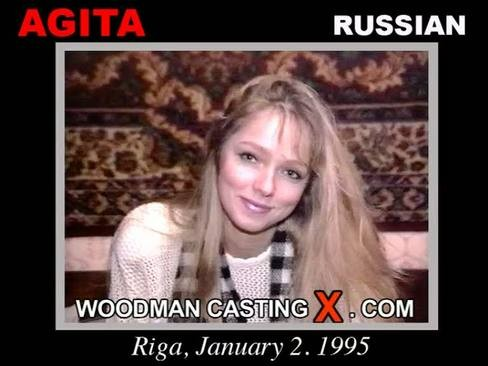 Agita - `Agita casting` - by Pierre Woodman for WOODMANCASTINGX