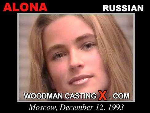 Alona - `Alona casting` - by Pierre Woodman for WOODMANCASTINGX