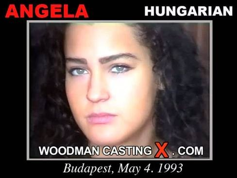 Angela - `Angela casting` - by Pierre Woodman for WOODMANCASTINGX