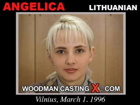 Angelica Mirai - `Angelica casting` - by Pierre Woodman for WOODMANCASTINGX