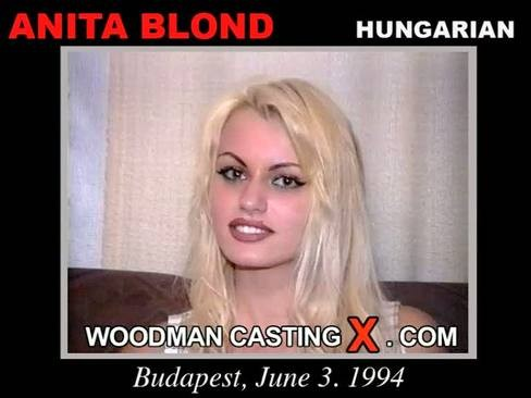 Anita Blond - `Anita Blond casting` - by Pierre Woodman for WOODMANCASTINGX
