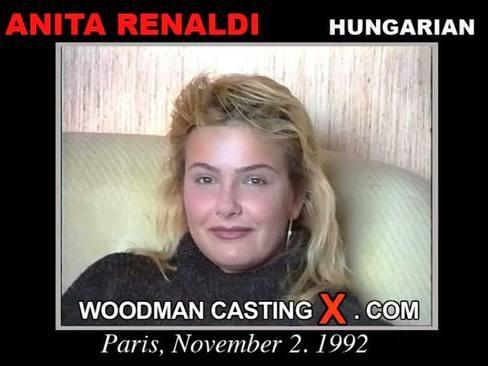 Anita Rinaldi - `Anita Rinaldi casting` - by Pierre Woodman for WOODMANCASTINGX