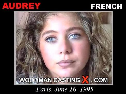 Audrey - `Audrey casting` - by Pierre Woodman for WOODMANCASTINGX