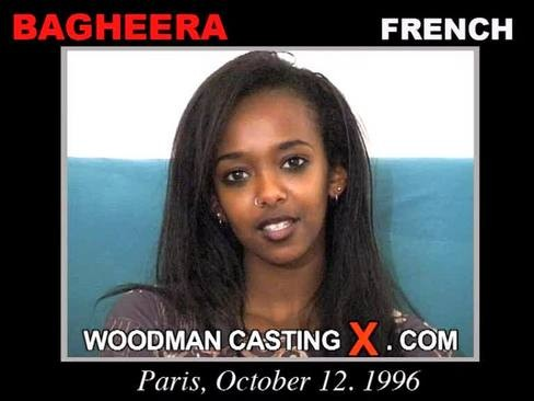 Bagheera - `Bagheera casting` - by Pierre Woodman for WOODMANCASTINGX