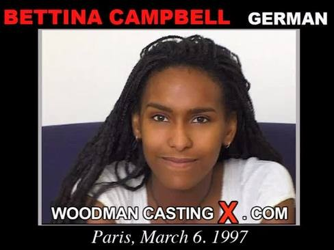 Bettina Campbell - `Bettina Campbell casting` - by Pierre Woodman for WOODMANCASTINGX