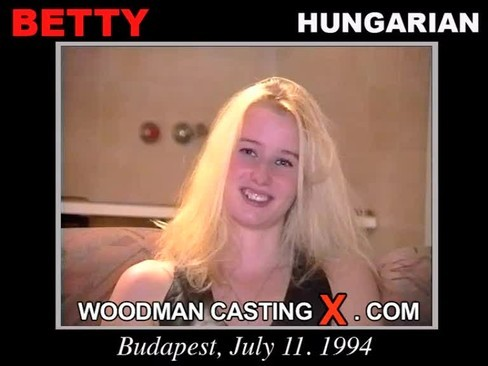 Betty - `Betty casting` - by Pierre Woodman for WOODMANCASTINGX