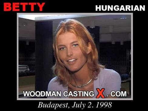Betty Gabor - `Betty Gabor casting` - by Pierre Woodman for WOODMANCASTINGX