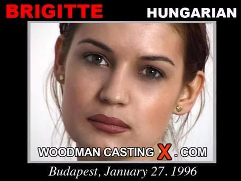 Brigitte - `Brigitte casting` - by Pierre Woodman for WOODMANCASTINGX
