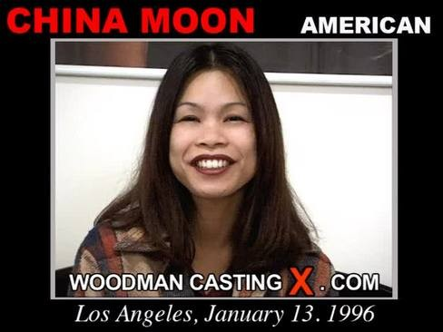 China Moon - `China Moon casting` - by Pierre Woodman for WOODMANCASTINGX