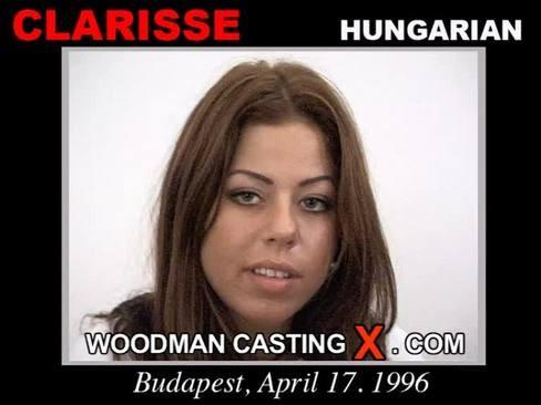 Clarisse - `Clarisse casting` - by Pierre Woodman for WOODMANCASTINGX