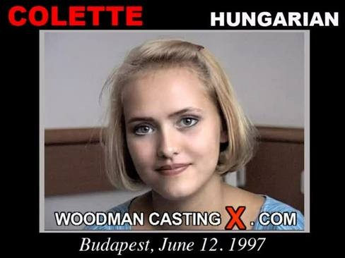 Colette - `Colette casting` - by Pierre Woodman for WOODMANCASTINGX