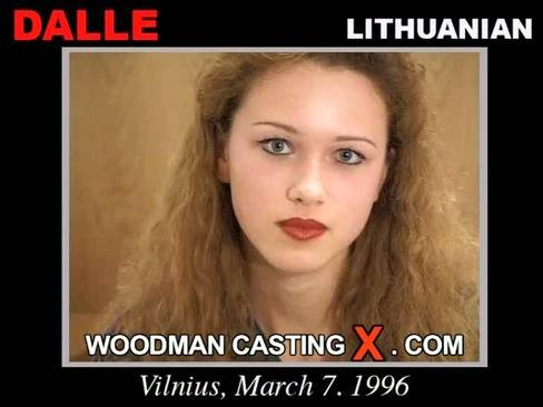 Dalle - `Dalle casting` - by Pierre Woodman for WOODMANCASTINGX