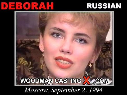 Deborah - `Deborah casting` - by Pierre Woodman for WOODMANCASTINGX