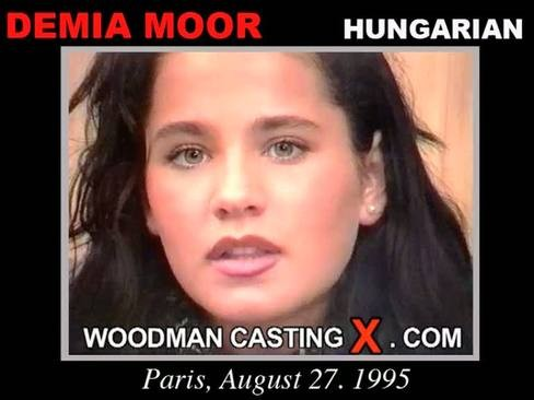 Demia Moor - `Demia Moor casting` - by Pierre Woodman for WOODMANCASTINGX