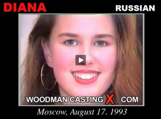 Diana - `Diana casting` - by Pierre Woodman for WOODMANCASTINGX
