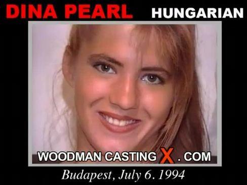 Dina Pearl - `Dina Pearl casting` - by Pierre Woodman for WOODMANCASTINGX