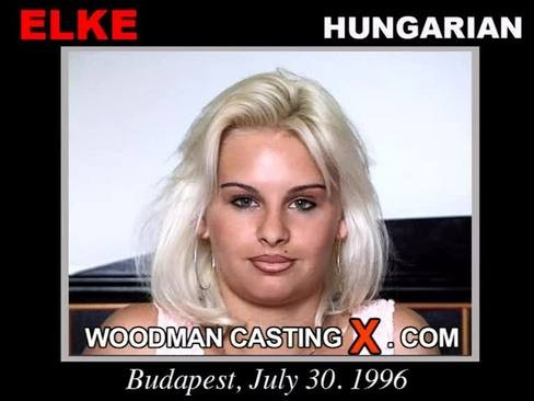 Elke - `Elke casting` - by Pierre Woodman for WOODMANCASTINGX