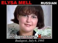 Elysa Mell - `Elysa Mell casting` - by Pierre Woodman for WOODMANCASTINGX