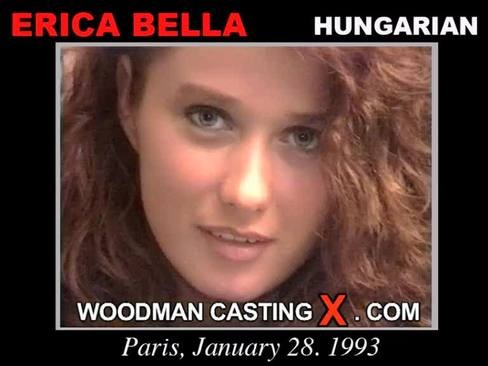 Erica Bella - `Erica Bella casting` - by Pierre Woodman for WOODMANCASTINGX