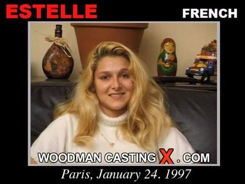 Estelle - `Estelle casting` - by Pierre Woodman for WOODMANCASTINGX