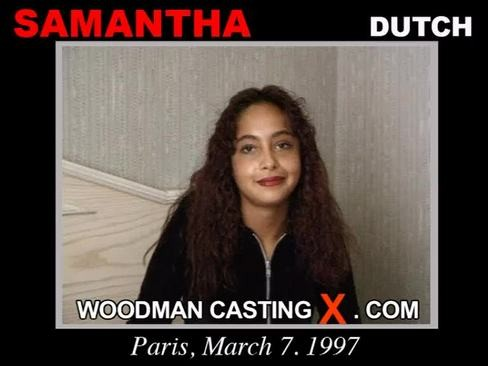 Samantha - `Samantha casting` - by Pierre Woodman for WOODMANCASTINGX