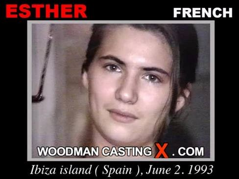 Esther - `Esther casting` - by Pierre Woodman for WOODMANCASTINGX