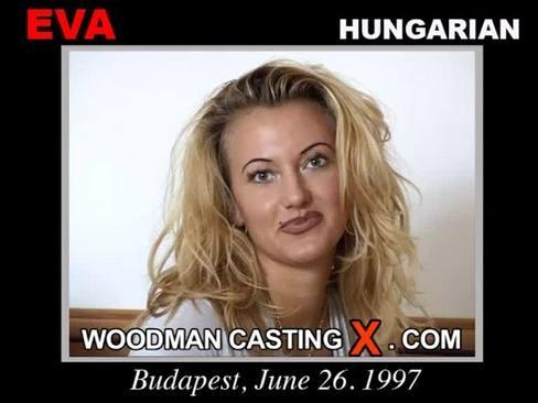 Eva - `Eva casting` - by Pierre Woodman for WOODMANCASTINGX