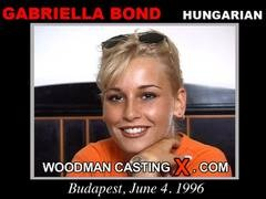 Gabriella Bond - `Gabriella Bond casting` - by Pierre Woodman for WOODMANCASTINGX