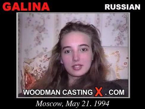 Galina - `Galina casting` - by Pierre Woodman for WOODMANCASTINGX