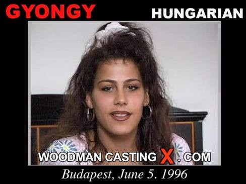 Gyongy and Linda - `Gyongy and Linda casting` - by Pierre Woodman for WOODMANCASTINGX