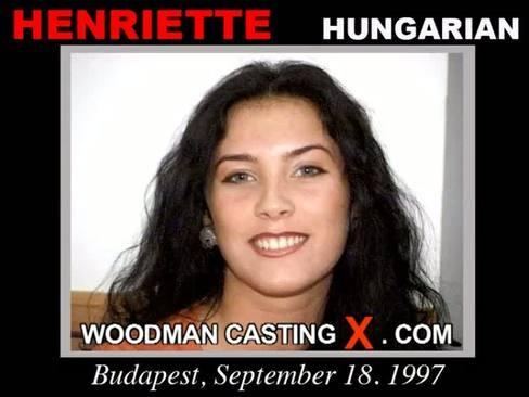 Henriette - `Henriette casting` - by Pierre Woodman for WOODMANCASTINGX