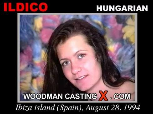 Ildico - `Ildico casting` - by Pierre Woodman for WOODMANCASTINGX