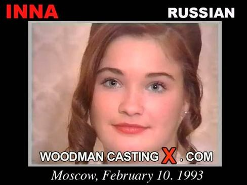 Inna - `Inna casting` - by Pierre Woodman for WOODMANCASTINGX