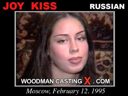 Joy Kiss - `Joy Kiss casting` - by Pierre Woodman for WOODMANCASTINGX