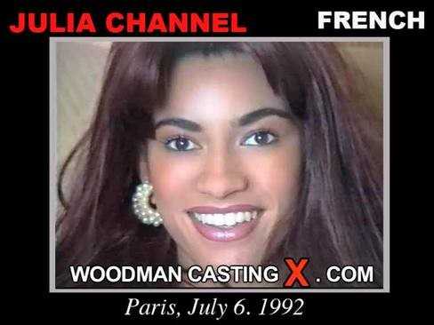 Julia Channel - `Julia Channel casting` - by Pierre Woodman for WOODMANCASTINGX