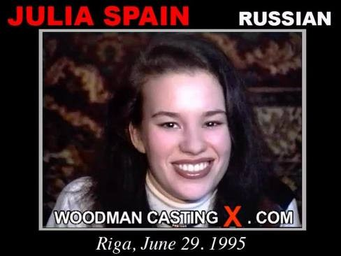 Julia Spain - `Julia Spain casting` - by Pierre Woodman for WOODMANCASTINGX