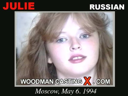 Julie - `Julie casting` - by Pierre Woodman for WOODMANCASTINGX