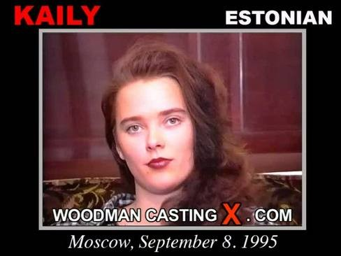 Kaily - `Kaily casting` - by Pierre Woodman for WOODMANCASTINGX